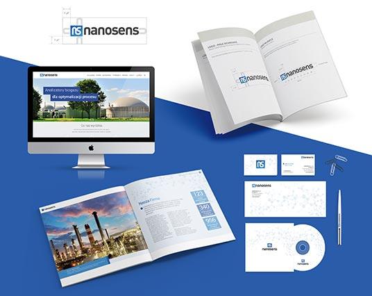 nanosens-branding